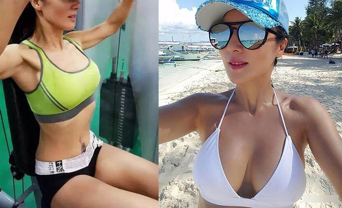 河南50岁健身女神