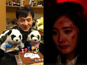 杨幂新戏被成龙赞 全身布满淤青伤痕触目惊心演技获肯定