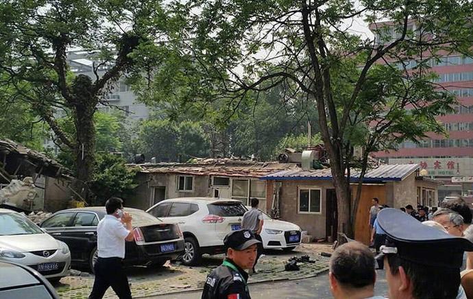 大学社区餐馆爆炸