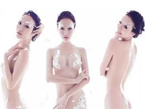 吴雨婵南昌车展比兽兽 人间胸器来袭
