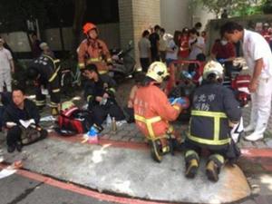 台湾新北一家月子餐工厂爆炸 12人受伤幸好无人死亡
