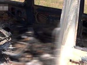 男子怒杀妻子情夫并焚尸 将其塞进面包车焚烧成白骨