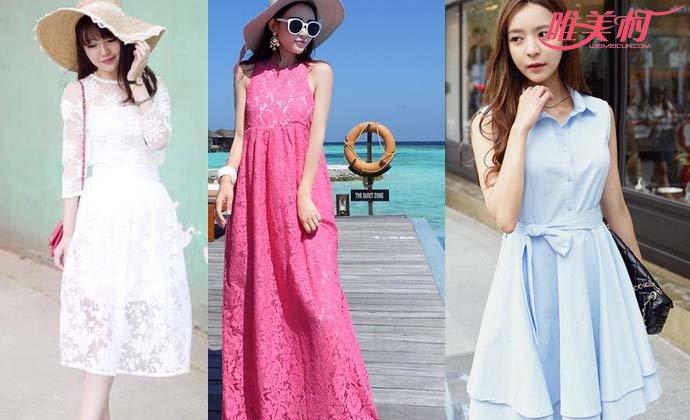 今夏流行的裙子款式