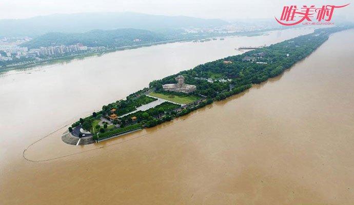 湘江突破警戒水位