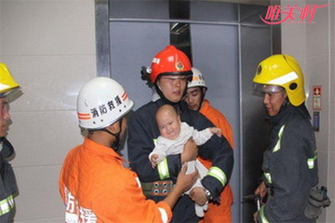婴儿被困问题电梯
