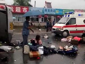 时间以来,发生车祸还真不少,7月6日中午1点的时候广河高速才发生
