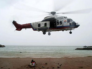 63名驴友困海岛 淡水干粮几乎用尽幸救助局