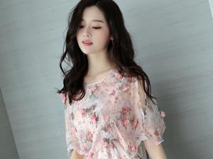 夏天小清新裙装 青春优雅减龄显瘦透露不一样的女人味
