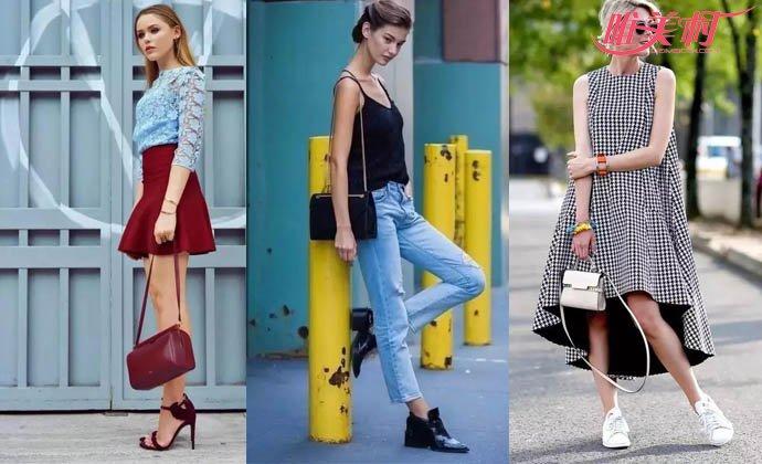 包包与服饰同色搭配