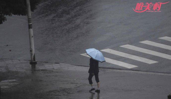 云南腾冲突降暴雨