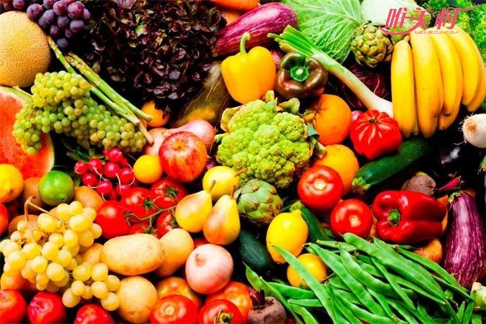 多吃蔬菜水果可以改善油性皮肤