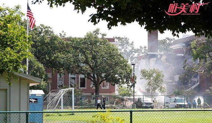 美国一所学校爆炸