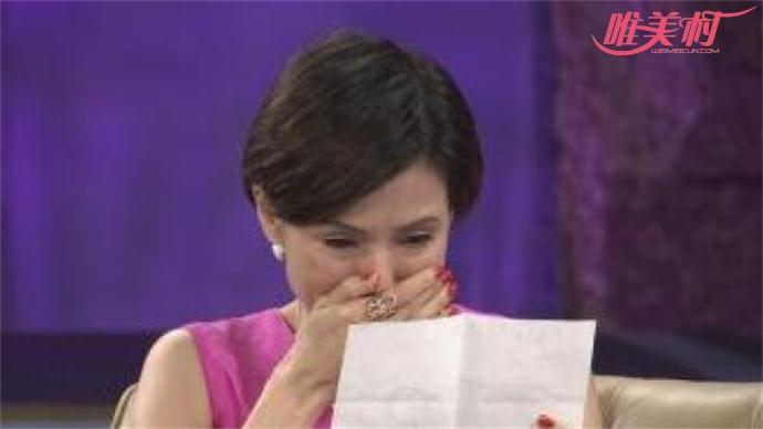 李若彤自揭隐退原因当场大哭