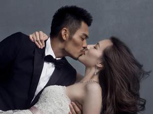 林丹谢杏芳结婚照 帅气新郎般配漂亮新娘