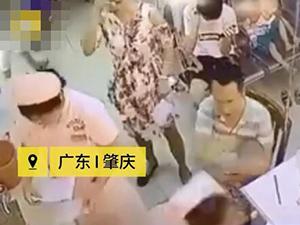 怪扎针不准怒扇女护士 男子愤怒控诉护士不专业现场视频曝光
