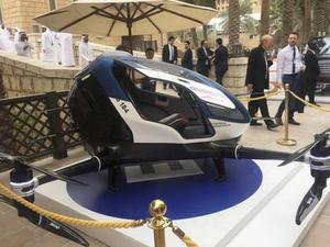 国外飞行出租车试行 未来有望解决陆地交通