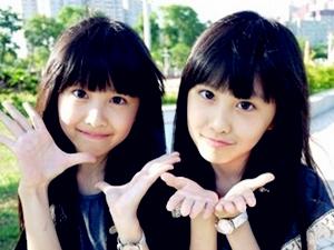 最美双胞胎长大了 从小美到大的人生赢家