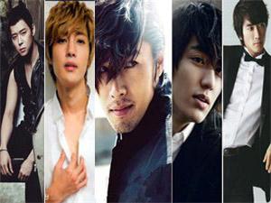 韩国最帅男明星排名 韩国男明星一个接一个