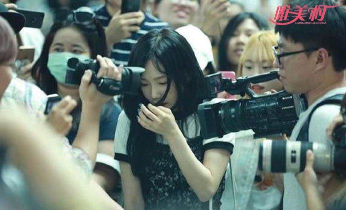 泰妍机场遭遇危险状况