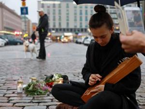 芬兰持刀伤人事件 犯罪嫌疑人已被警方控制