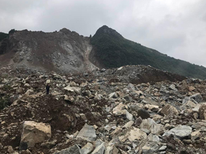 贵州山体滑坡 已致2人遇难25人失联令人瞠目