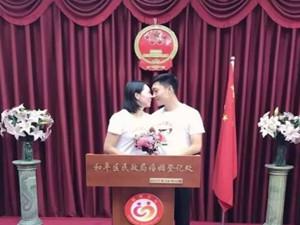 奥运冠军李晓霞结婚 与相恋多年的男友喜结连理
