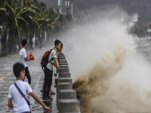 14号台风帕卡又来了 广东地区又要迎来强阵雨