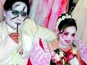 新人举办恐怖婚礼 惊悚婚礼让宾客此生难忘