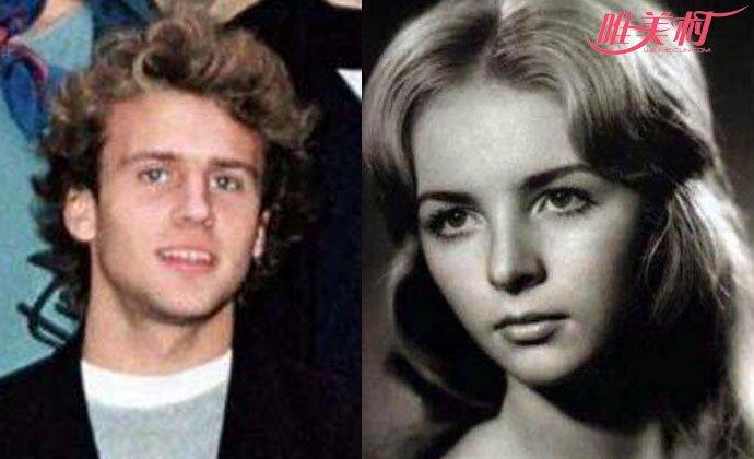 马克龙妻子年轻照片