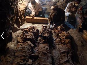 埃及发现古墓 数千年历史现场相当震撼墓主身份大揭秘