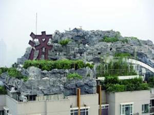 最牛违建楼顶见绿 违章建筑又要来耍新花样