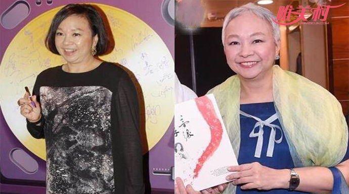 60岁香港才女歌手陈秋霞患病后黑发变白发