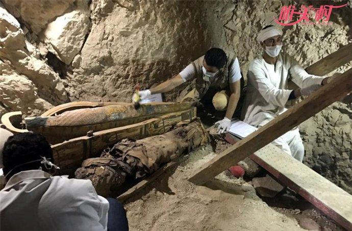 埃及发现3500年前木乃伊