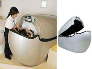 日本发明自动洗澡机 汗蒸SPA样样齐全让你解放双手