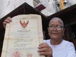 泰国最牛钉子户 老奶奶运筹帷幄小木屋卖出6000万