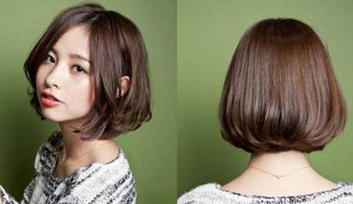 头发少适合什么发型