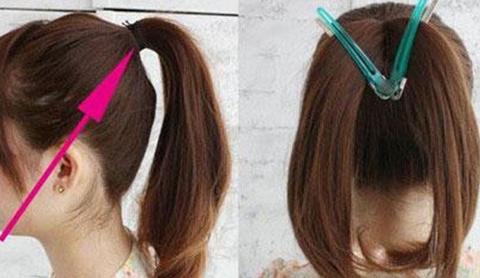 短卷发怎么扎好看