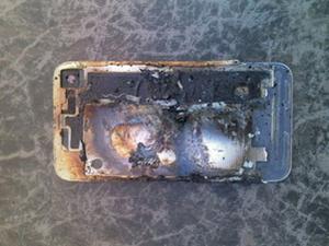 苹果的质量被质疑 一女子因iphone爆炸导致