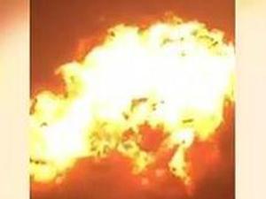 加纳燃气站爆炸 爆炸腾起巨大蘑菇云已致7人