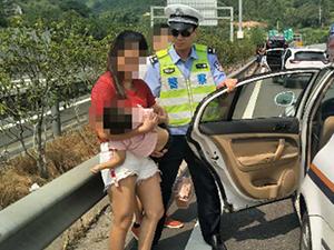 两岁娃开车门摔下身亡 当时伤势严重触目惊