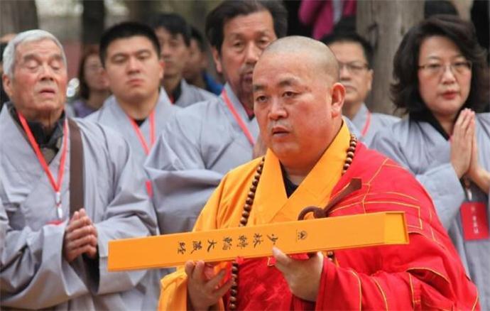 少林寺释永信图片