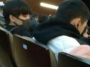 王俊凯带动出勤率 上课带口罩还敢到处宣传