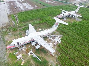 土豪花800万买飞机 有计划行事待改造成功后有望成为特色景点
