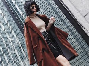这个秋冬焦糖色外套你值得拥有 焦糖色绝妙搭配穿出自我