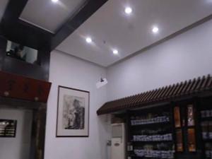 杭州老店钢丝收银 方式新颖引不少人前来观