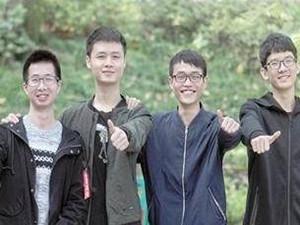 重庆高校现超强就业男生宿舍 一人保研五人进名企