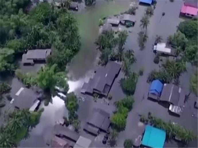 泰国水灾致24人遇难