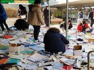 韩国高考因地震推迟 学生却惊呼我书都扔了