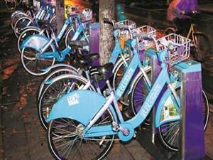受到共享单车的影响 武汉公共自行车停运