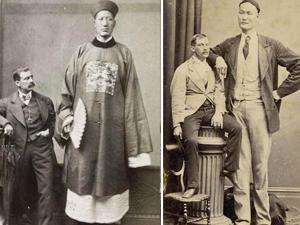 世界第一巨人在中国 清朝巨人詹世钗3.19米娶英国老婆